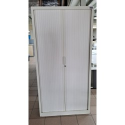 Armoire métal 100 x 198 cm blanc